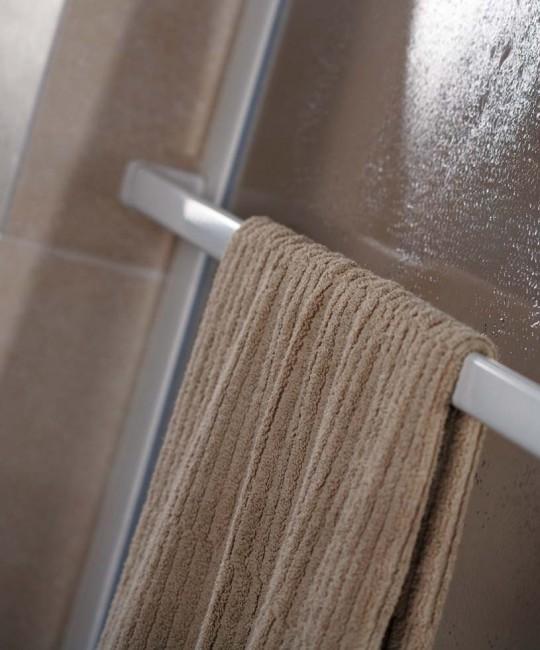 Handtuchhalter mit Rahmenbefestigung