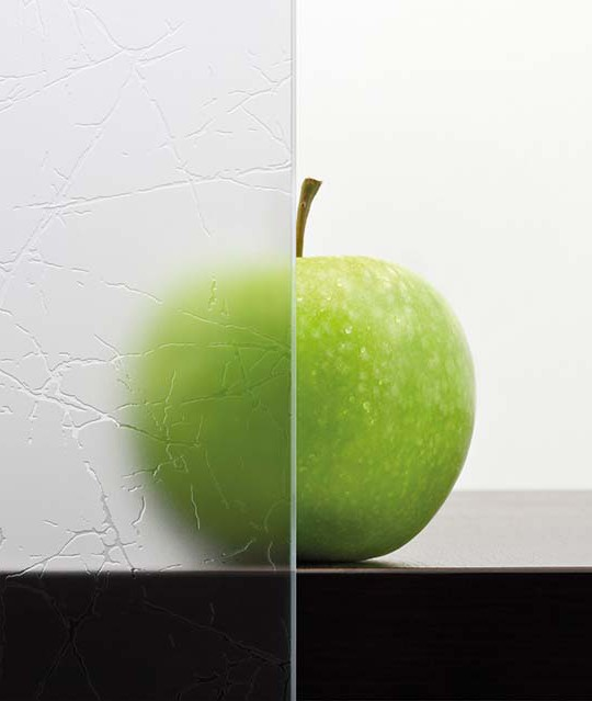 Ornament-Glasmuster mit Motiv Uadi