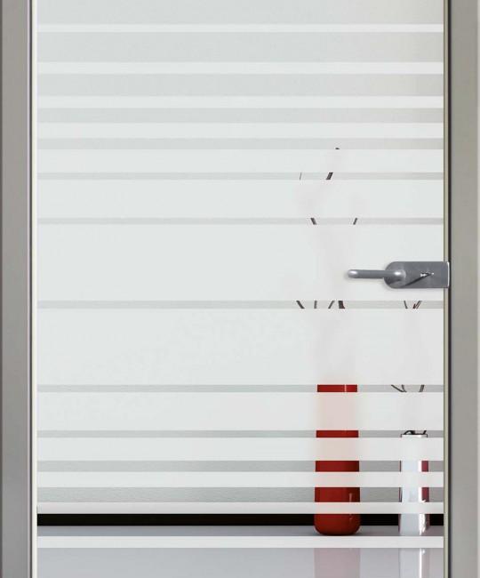 Sandstrahl Glastüre mit Motiv Sand 17