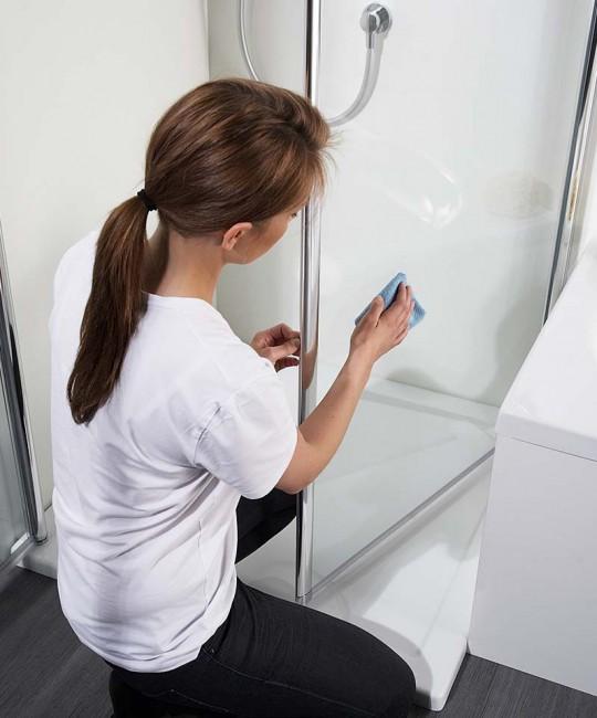 Zubehoer einfache Reinigung der Seitenwand