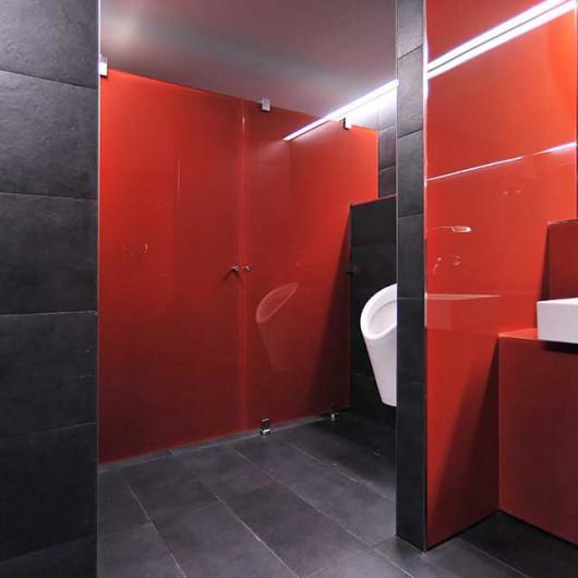 WC-Trennwand astec s.200